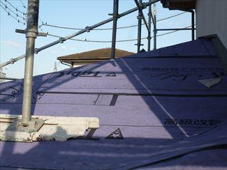 屋根カバー,防水紙