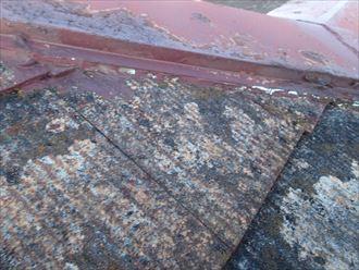 袖ケ浦市 塗膜の剥離