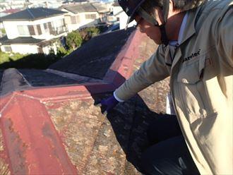 袖ケ浦市の屋根カバー工事のご提案化粧スレートの傷み