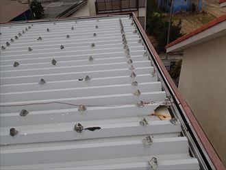 富津市 折板屋根