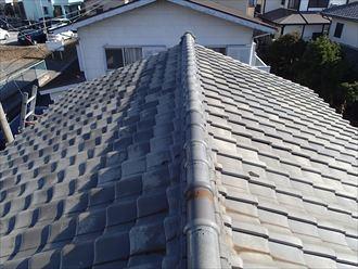 千葉市若葉区|軽量瓦ルーガ雅で屋根葺き替え工事を行いました