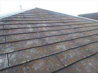 市原市の屋根カバー工事のご提案スレートの傷み