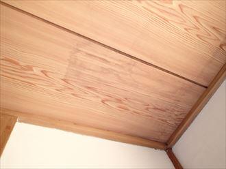 化粧スレート屋根の雨漏り、原因は棟板金への不適切な施工|市原市