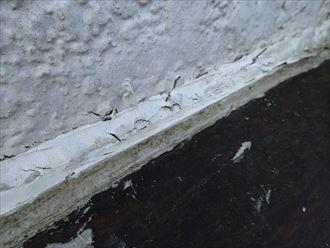木更津市 防水コーキングの劣化