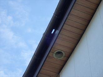木更津市 屋根に出来た隙間