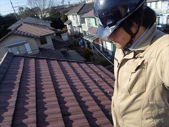 大網白里市の屋根葺き替え瓦から金属屋根