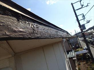 君津市 木部の腐食