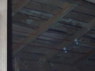 君津市 屋根裏調査状況