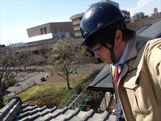 木更津市の瓦に浮き瓦自体の反りが原因