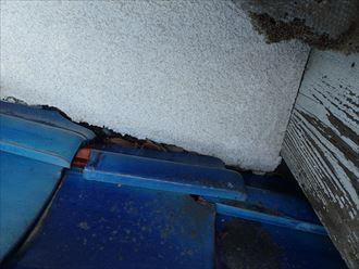 木更津市 雨漏り箇所上部の屋根