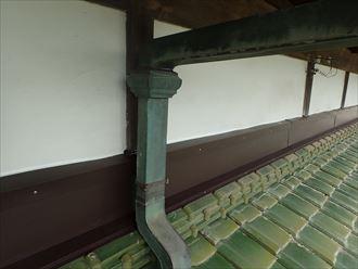 木更津市 雨押え板金の設置