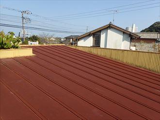 富津市 屋根の劣化