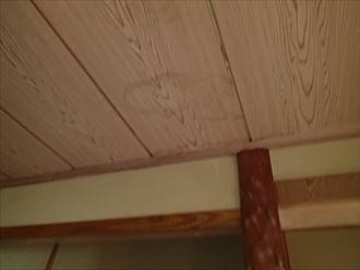 富津市 天井に発生した雨染み