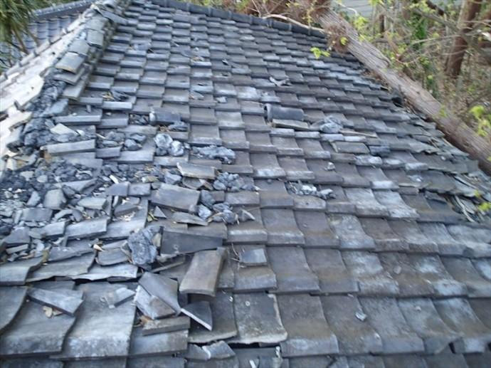 君津市 屋根被害