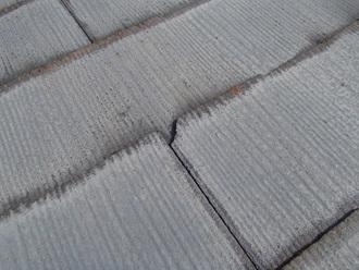 スレート屋根の割れ、防水性の低下