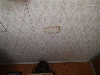 君津市の雨漏り調査前回の施工に問題か