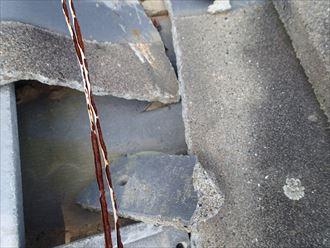 君津市 屋根の損傷