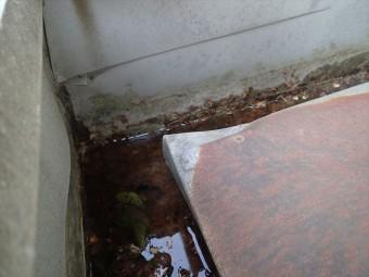 木更津市 雨漏り上部