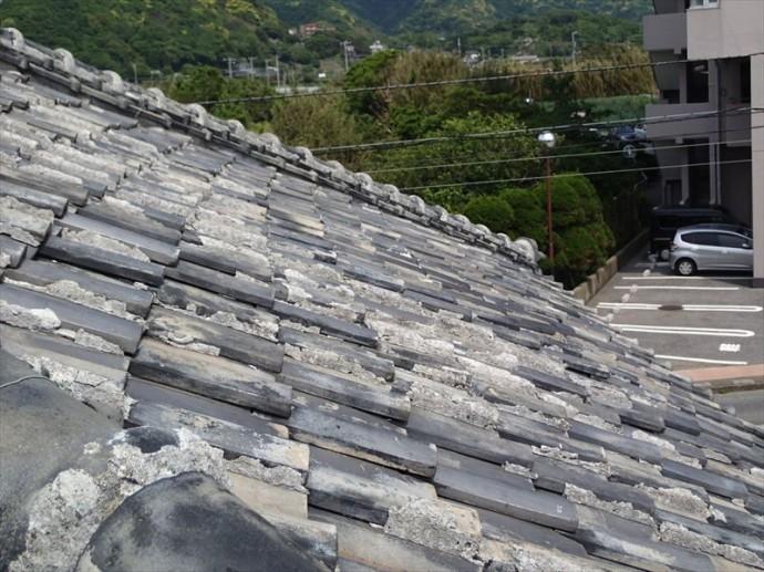 富津市 屋根材のズレ