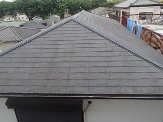 スレート屋根の現状調査