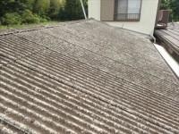 印旛郡 小波スレート屋根カバー工事前