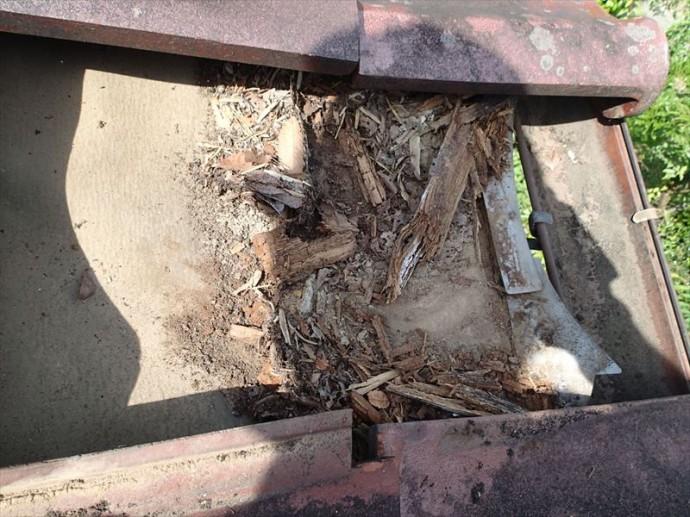 袖ケ浦市 桟木の腐食
