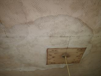 袖ケ浦市 室内の雨漏り