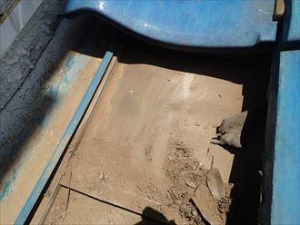 富津市 防水紙の状態