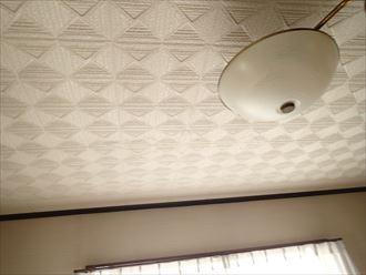 富津市 室内に発生した雨漏り