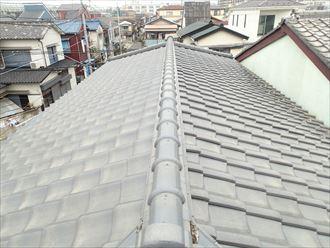 富津市 屋根調査の状況