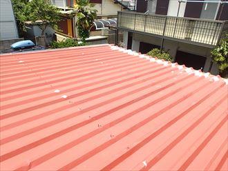 君津市の事務所折板屋根の改修調査