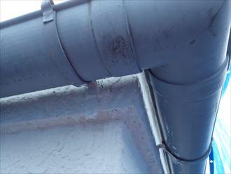 君津市 雨樋の状態調査