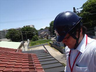 市原市の瓦屋根棟取り直しと屋根葺き直し工事のご提案