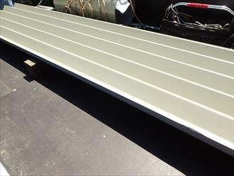 新規屋根材 カバールーフ