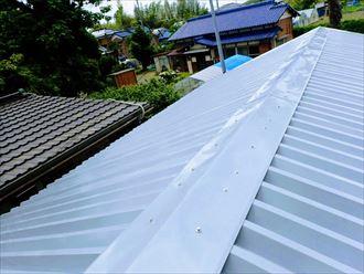 印旛郡 屋根カバー工事完了
