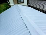 印旛郡 屋根カバー工事完了②