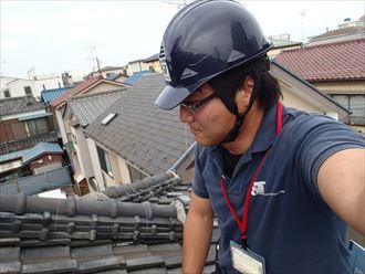 市原市の瓦屋根工事業者から不安を煽られ調査依頼