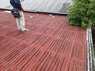 市原市 雨漏り屋根調査