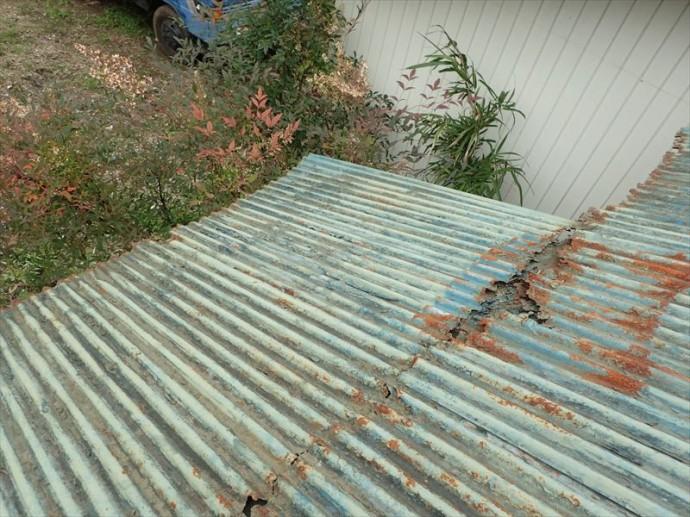 市原市 屋根材の腐食
