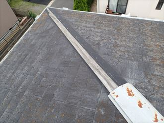 君津市の屋根修理棟板金交換工事