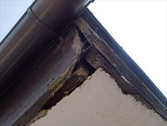 木更津市の破風板の腐食原因は勾配に合わない屋根材