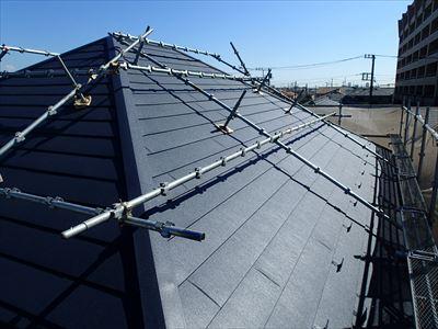 船橋市|築16年、パミールからスーパーガルテクトへ屋根カバー工法!