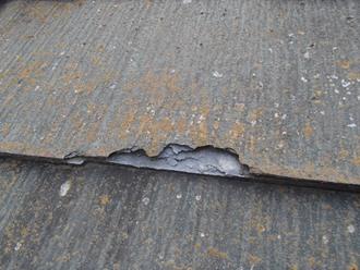 パミール屋根の剝離、カバー工事ご提案