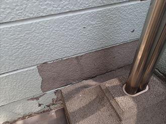 木更津市 サイディングの塗膜の剥がれ