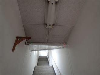 階段,室内,雨漏り