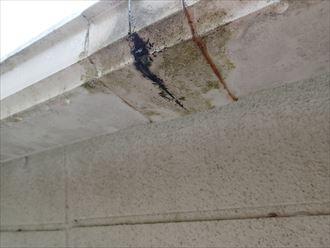 木更津市 雨樋のひび割れ