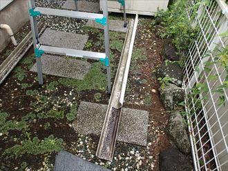 木更津市 雨樋の取外し