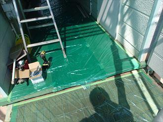 君津市のアパートで外壁カバー工事と付帯部塗装工事