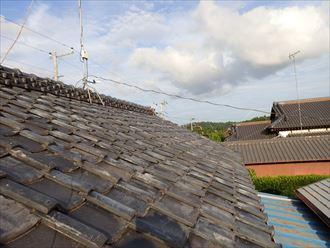 成田市で瓦の落下|棟瓦積み直しと並び補修のお見積り