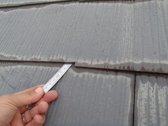 スレート屋根の縁切り十分